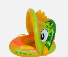 New open Bass mouth float w/Handles. Frog. Age 3 to 6 with arm floats