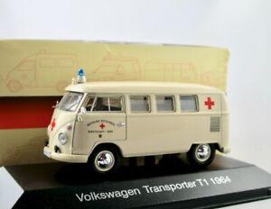 VW T1 Kombi Ambulanz/Krankenwagen/DRK 1964     /   Ambulance IXO/Atlas 1:43