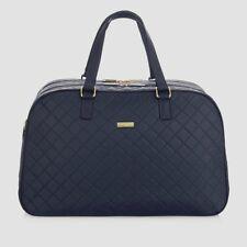 NEW * Joy& Iman   RFID   BLACK  Quilted  Nylon  Weekender  Dufflle Bag