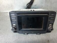VOLKSWAGEN POLO STEREO/HEAD UNIT TOUCH SCREEN CD PLAYER (RCD510), 6R, 05/10-09/1