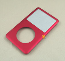 Red Front Faceplate Housing Case Cover for iPod 6th 7th Classic 80GB 120GB 160GB