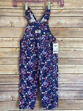 Oshkosh BGosh Overalls Size 24 Months Girls Blue Floral...