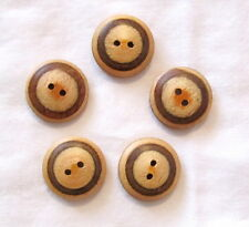 "Lot of 20 DRAGONFLY 2-hole Wooden Buttons 5//8/"" 15mm 827 Craft Scrapbook"