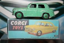 Corgi Toys style Standard Vanguard Saloon 111 Reproduction BOX ONLY Number 207