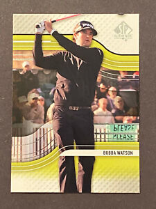 2012 SP AUTHENTIC GOLF BUBBA WATSON R2 RC ROOKIE CARD