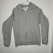 Vintage Champion Full Zip Hoodie XL Womens Grey