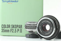 [Unused] VOIGTLANDER COLOR SKOPAR 35mm F2.5P II VM Lens for Leica M Mount Japan