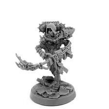28mm-scale SISTER SORORITA WITH HEAVY FLAMER AND GAS MASK