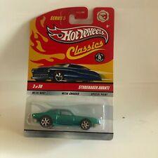 Hot Wheels Classics Studebaker Avanti 3 of 30 Series 5 Blue E3