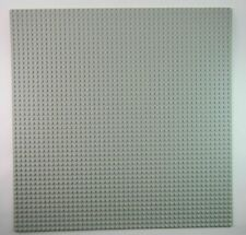 LEGO LARGE 48 X 48 DOT 15 X 15 INCH LIGHT BLUISH GREY BASEPLATE PLATFORM