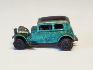 1969 Hot Wheels Redline Classic 32 Ford Vicky in USA Aqua, Free Shipping