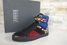 HOGAN Rebel 37,5 High Sneakers Schnürschuhe Schuhe multicolor NEU ehem UVP 298 €