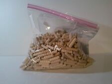 "500 Mushroom Plugs/Dowels 5/16""x1 1/4""   Spiral Grooved, NEW Birch untreated"