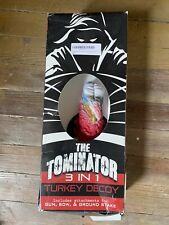 The Tominator 3 in 1 The Ultimate Turkey Reaping Decoy New Open Box