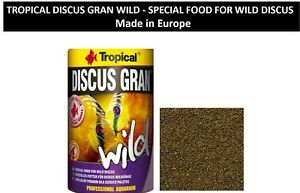 Special Food For Discus TROPICAL DISCUS GRAN WILD - SPECIAL FOOD FOR WILD DISCUS