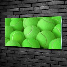 Glas-Bild Wandbilder Druck auf Glas 100x50 Deko Sonstige Tennisbälle