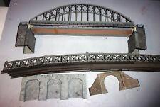 2 pont passerelle  VOLLMER V30 FALLER 545 HO reseau train loco N° FLEISCHMANN
