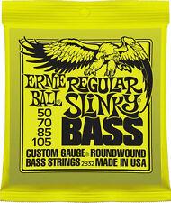 Ernie Ball 2832 Regular Slinky Bass Strings Roundwound 50-105 Free US Shipping!