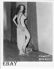 Tempest Storm busty leggy RARE Photo