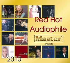 """""""Red Hot Audiophile 2010"""" Master Music Brand New Sealed Audiophile CD"""