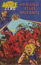 Année Zéro - Kamandi N°3 - Kamandi et les mutants - Arédit DC Comics - 1979 - BE