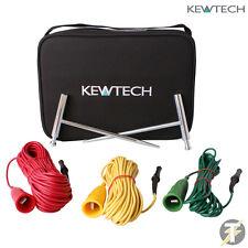 Kewtech terre Spike et plomb Kit testeur et mesure Terre résistance ACCESKIT