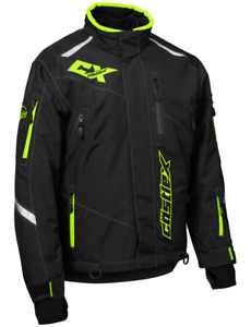 Castle X Thrust G2 Jacket Black/Hi-Vis Snowmobile Jacket L-XL
