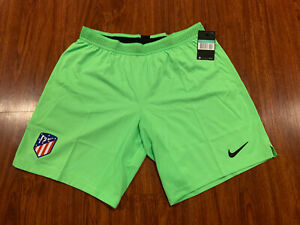 2018-19 Nike Men's Atletico Madrid Green Player Issue Soccer Jersey Shorts XL