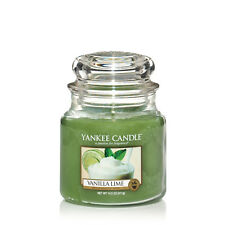 YANKEE CANDLE Candela profumata Vanilla Lime giara media durata 90 ore