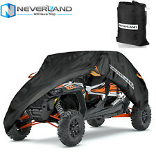 Sibe by Side Utility Vehicle Cover Waterproof Fit Polaris Rzr Xp 4 Turbo S4 1000