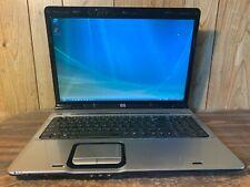 """HP Pavilion DV9000 17.3"""" Windows Vista Vintage Gaming Laptop AMD X2 CPU 2GB DVD"""