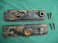1979-86 CHEVROLET CHEVETTE  VALVE COVERS  RH - LH  USED  PARTS PLEASE READ AD.