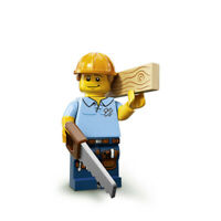 Lego Minifigure Serie 13 / n° 9 Charpentier / Carpenter