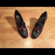 Tod's Loafer Heels with Tassels, Size 7