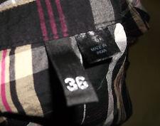 H&M DIVIDED Bluse Kurzarm 36 wie neu 100 % Baumwolle