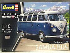 +++ Revell Volkswagen T1 Samba Bus 1:16 07009