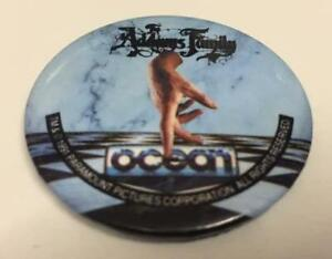 Pin Badge ~ The Addams Family ~ Ocean ~ Official Promo ~ ZX Spectrum/Commodore