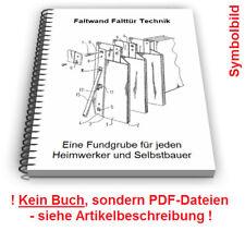 Faltwand selbst bauen - Falttür Lamellen Befestigung Führung Technik Patente