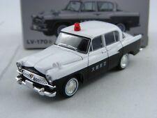 Toyota Patrol fs20 policía osaka, Tomica Tomytec Limited vintage lv-170a,1/64