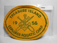 TREASURE ISLAND 1956 EXPLORER AQUATIC CAMP  ARMBAND