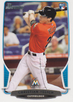 CHRISTIAN YELICH (RC Logo) 2013 Bowman #40 *Brewers - NL MVP
