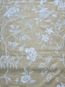 Colefax & Fowler Linen Material/Fabric Swedish Tree Design 2.15m Yellow/Gold