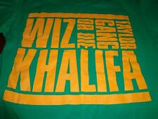 TAYLOR GANG OR DIE Wiz Khalifa concert tour shirt adult Large rap hip hop   L6
