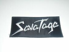 SAVATAGE EMBROIDERED PATCH