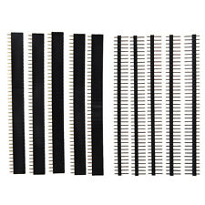 5 PCS 40 Pin 2.54mm Single Row Straight Male + Female Pin Header Strip T1