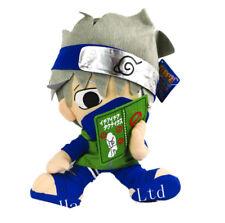 Anime Naruto Kakashi Hatake Reading Soft Plush Toy Doll 30cm