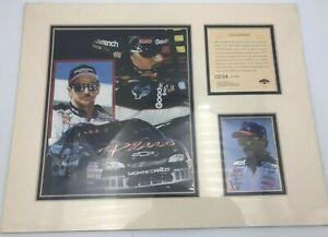 Dale Earnhardt #3 Car Photo Print Winston Cup Racing Matted Frame Ready #12500