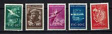 """NETHERLANDS ANTILLES 1952 #239-243 mnh """"SEAMAN"""" E296g"""