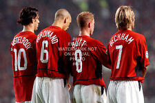 2003 BECKHAM BUTT ACTION PHOTO CHOOSE PRINT SIZE MANCHESTER UNITED MAN UTD