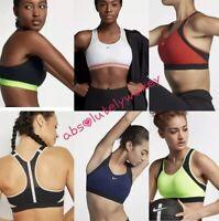 Nike Motion Adapt Women's High Support Sports Training Gym Running Bra